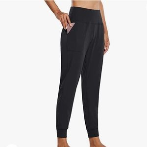 NWT BALEAF Black Buttery Soft Fitted Active Jogger